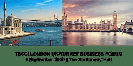 TBCCI London UK-Turkey Business Forum tickets
