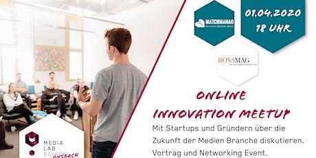 Online Innovation Meetup Tickets