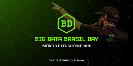 Big Data Brasil Day 2020 - Imersão Data Science ingressos