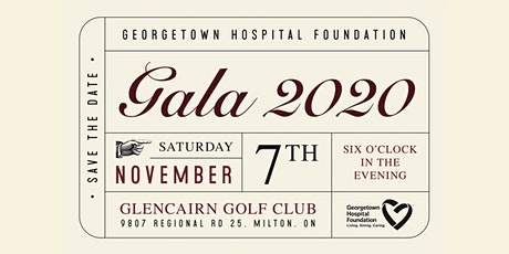 Georgetown Hospital Foundation Gala 2020 tickets