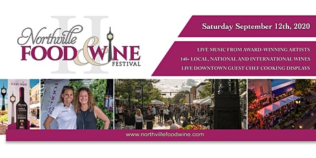 2020 Northville Food & Wine Festival - September 11-12, 2020 tickets