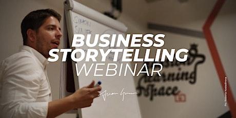 Business Storytelling Live Webinar Tickets