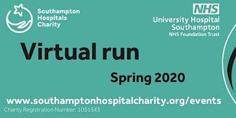 Your Pace, Your Place - a virtual run for Southampton Hospitals Charity tickets