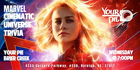 Marvel Cinematic Universe Trivia at Your Pie Brier Creek tickets
