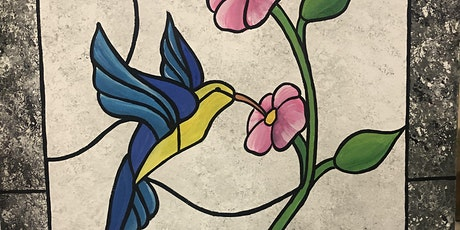 Rohrbach's Farm Paint Night! Stained Glass Hummingbird tickets