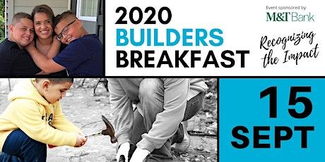 Builders Breakfast 2020 tickets