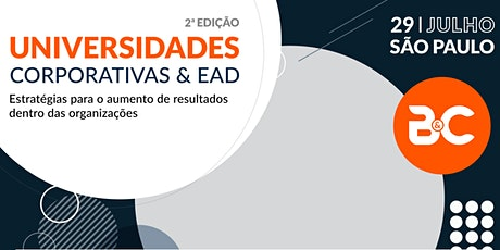 2ª Ed. Universidades Corporativas & EAD ingressos