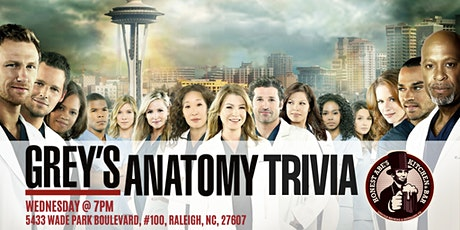 Grey's Anatomy Trivia at Honest Abe's tickets