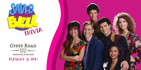 Saved By The Bell Trivia at Gypsy Road Brewing Company tickets