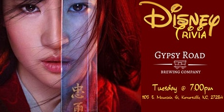 Disney Movie Trivia at Gypsy Road Brewing Company tickets