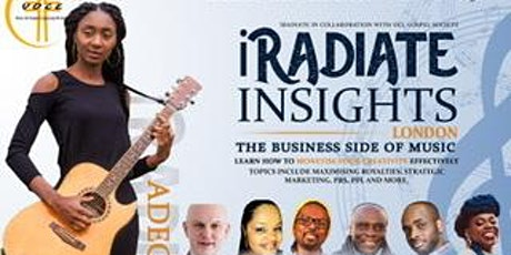 iRadiate Insights: The Business Side Of Music tickets