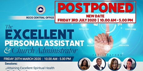 Postponed: Conference of Personal Assistants and Church Administrators - 2020 tickets
