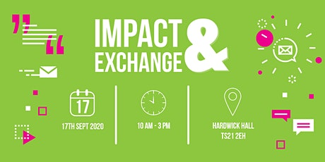 Impact & Exchange Expo Sept 2020 - FREE visitor ticket tickets