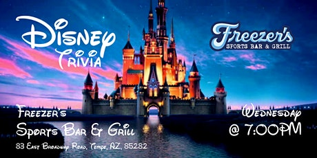 Disney Movie Trivia at Freezer's tickets