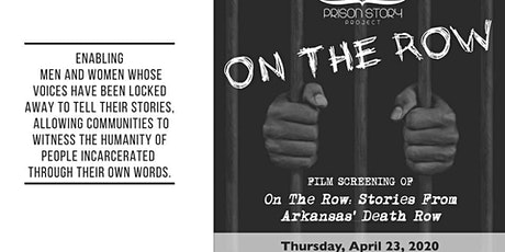 On The Row: Stories from Arkansas' Death Row Film Screening tickets