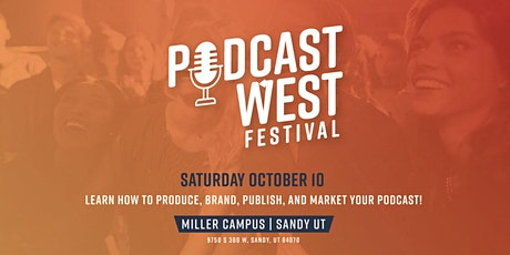 Podcast West Festival tickets