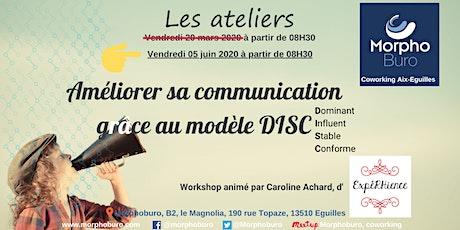 Workshop - Améliorer sa communication grâce au modèle DISC billets