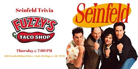 Seinfeld Trivia at Fuzzy's Taco Shop tickets