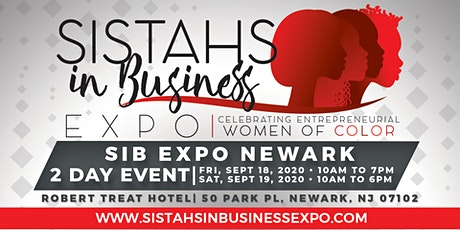 Sistahs in Business Expo 2020 - Newark, NJ tickets