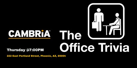 The Office Trivia at The Cambria tickets