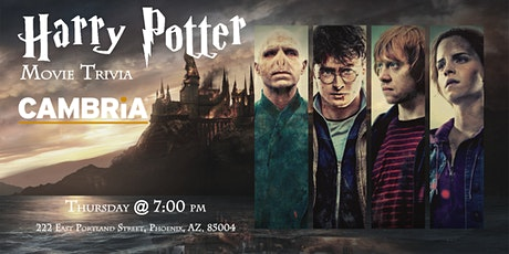 Harry Potter Movies Trivia at The Cambria tickets