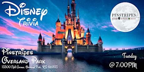 Disney Trivia at Pinstripes Overland Park tickets