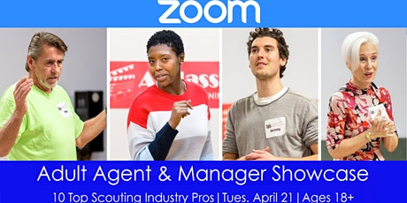 Online Adult Agent & Manager Showcase with 10 Talent Reps tickets