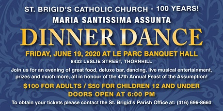 Madonna Assunta Annual Dinner Dince tickets