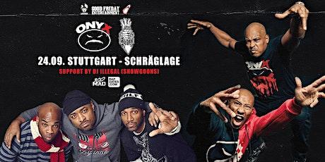 Onyx & Lords Of The Underground Live in Stuttgart - Schräglage Club Tickets