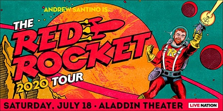 SHOW POSTPONED, STAY TUNED FOR UPDATES: Andrew Santino: The Red Rocket Tour tickets