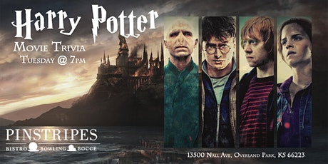 Harry Potter Movies Trivia at Pinstripes Overland Park tickets