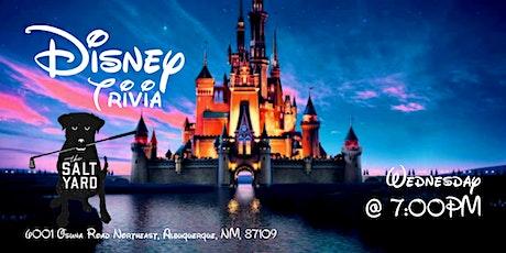DATE CHANGE: Disney Movie Trivia at The Salt Yard East tickets