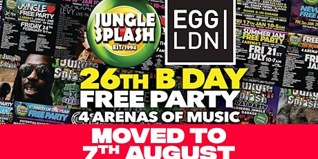 [RESCHEDULED] Jungle Splash Free Birthday Party tickets