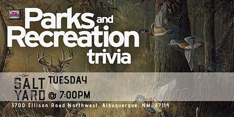 Parks & Rec Trivia at The Salt Yard West tickets
