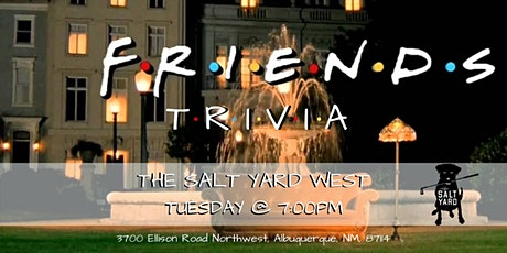 Friends Trivia at The Salt Yard West tickets
