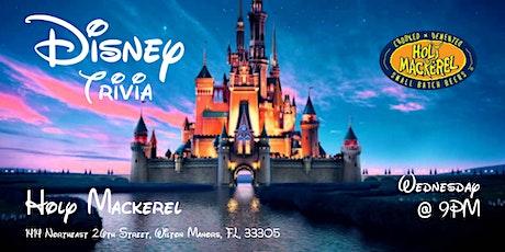 Disney Movie Trivia at Holy Mackerel tickets