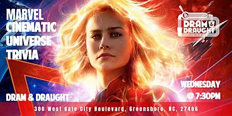 Marvel Cinematic Universe Trivia at Dram & Draught tickets