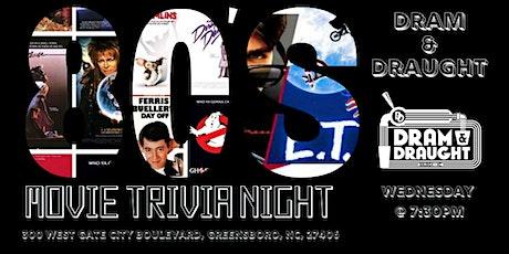 80's Movies Trivia at Dram & Draught tickets