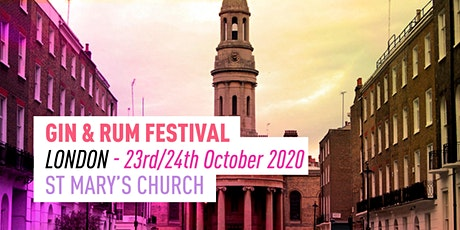 The Gin & Rum Festival - London -2020 tickets