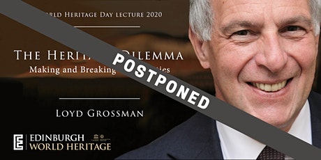 World Heritage Day Lecture by Loyd Grossman tickets