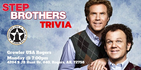 Step Brothers Trivia at Growler USA Rogers tickets