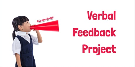 Webinar: Verbal Feedback Research tickets