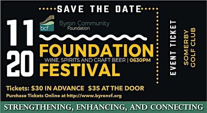 2020 Byron Community Foundation Festival  tickets