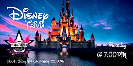 Disney Trivia at Copperhead Road Bar & Nightclub tickets