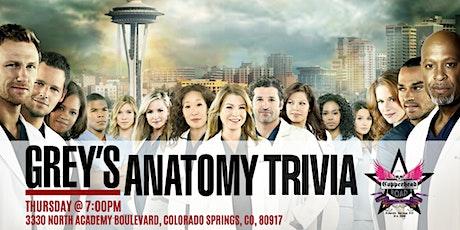 Grey's Anatomy Trivia at Copperhead Road Bar & Nightclub tickets