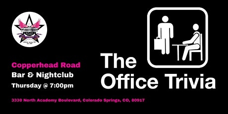 The Office Trivia at Copperhead Road Bar & Nightclub tickets