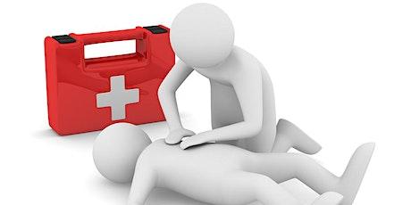Emergency First Aid at Work - Aldridge - Friday 17th July   tickets