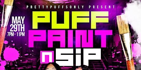 Puff Paint n Sip tickets