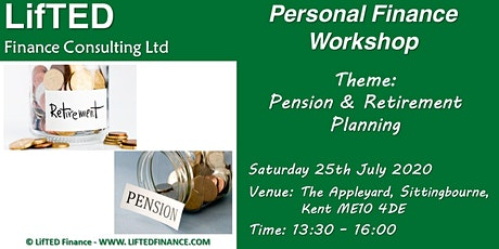 Pension and Retirement Planning:  Personal Finance Workshop tickets
