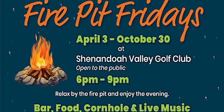 Fire Pit Friday tickets
